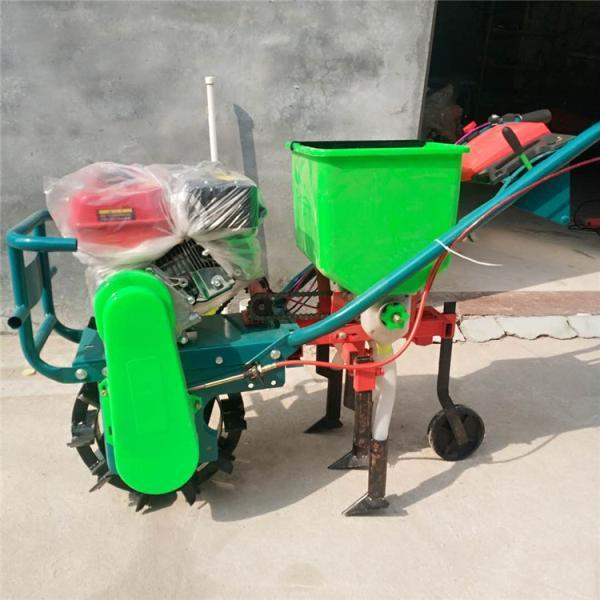 农用独轮播种机 柴油水冷播种机 棉花施肥机