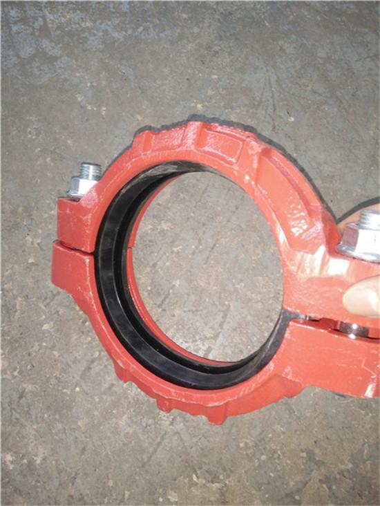 DN60滚槽式焊接卡箍接头制造厂家新疆喀什