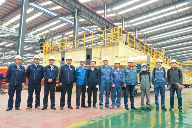 河南矿山LHB型5吨10米矿用防爆电动葫芦桥式起重机