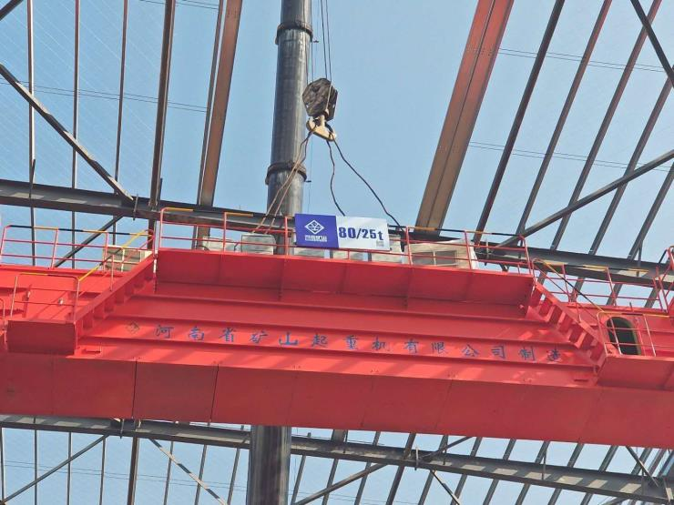 【河南省矿山】60吨双梁起重机起升范围销售处