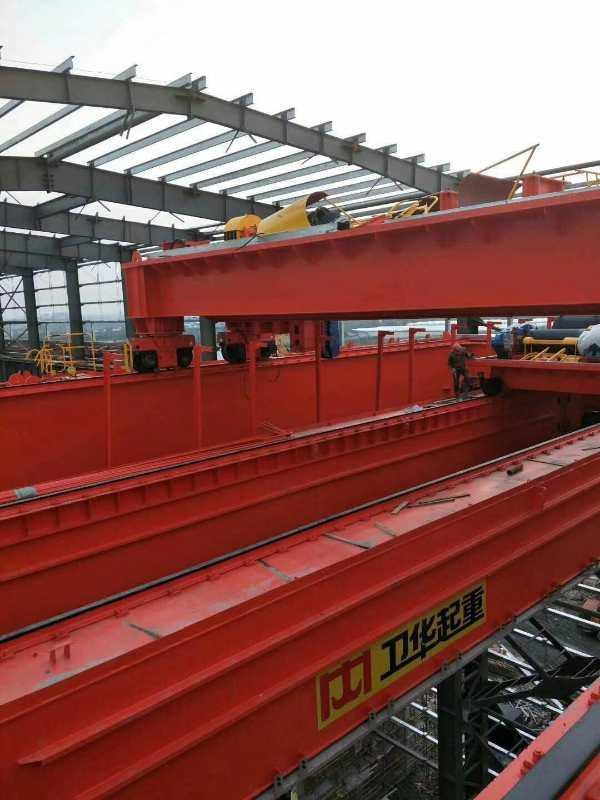 梅河口潔凈起重機:200噸架橋機