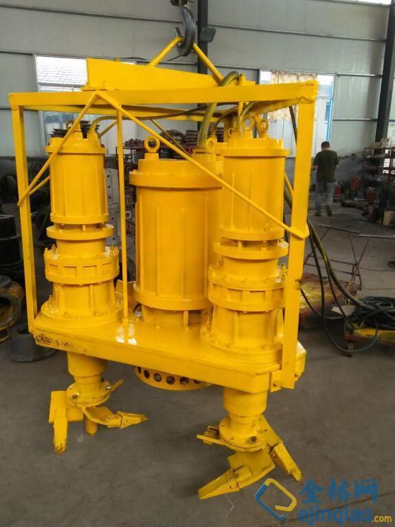 扶余带搅拌叶轮吸沙泵超耐磨材质