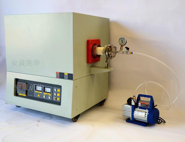 管式气氛炉-海沧1400度管式真空电阻炉