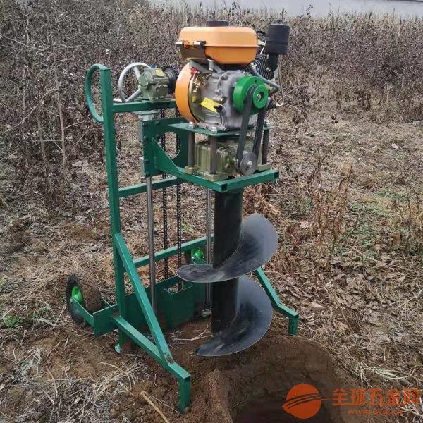 嘉兴种树专用地钻机电线杆挖坑机