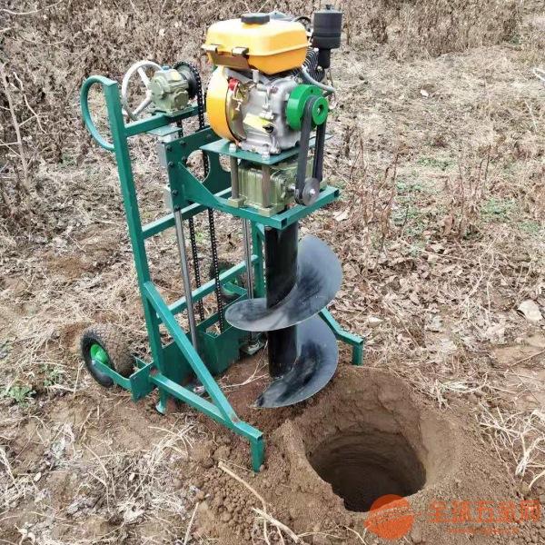 沧州荒山造林专用钻眼机 挖坑机一秒一个坑