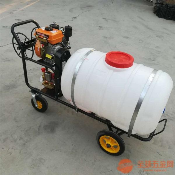 芜湖农用手推式打药机价格手推车式喷雾机