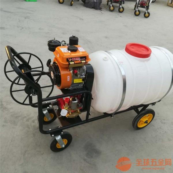 中山自走式汽油打药机高压喷雾器