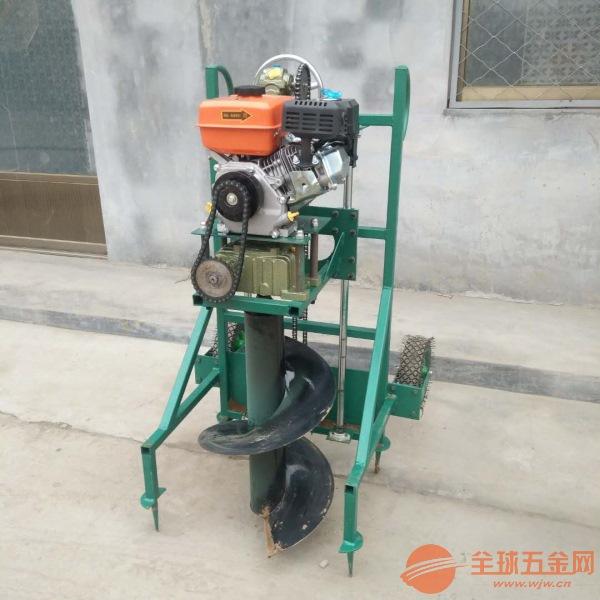 济宁农林汽油植树挖坑机汽油挖坑机