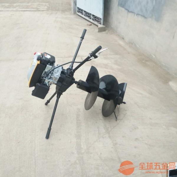 扬州葡萄园立柱挖坑机车载式山地挖坑打眼设备