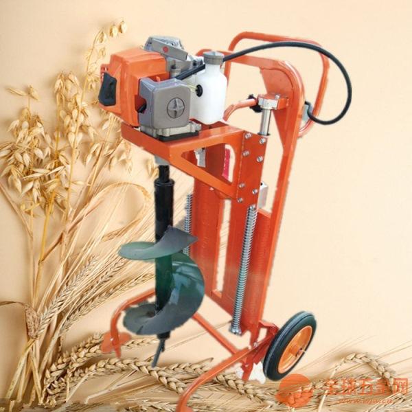 临沂便携式植树挖坑机果苗植树打坑机