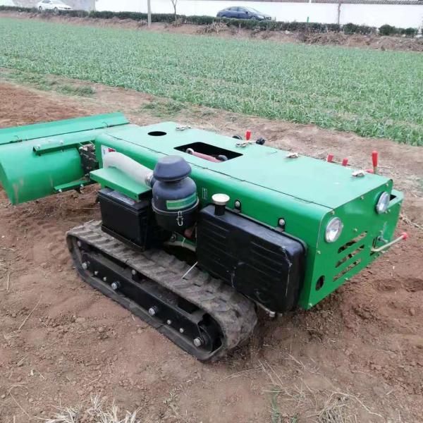 清远履带式开沟施肥机履带式田园管理机