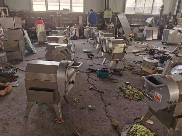 襄阳豆腐皮切块机食堂专用多功能切菜机