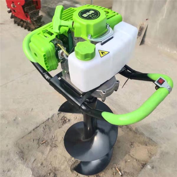 北京山地斜坡打坑机 拖拉机牵引式螺旋打坑机
