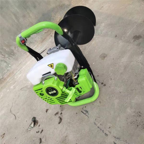 厦门推车式植树挖坑机 手提轻便打坑机