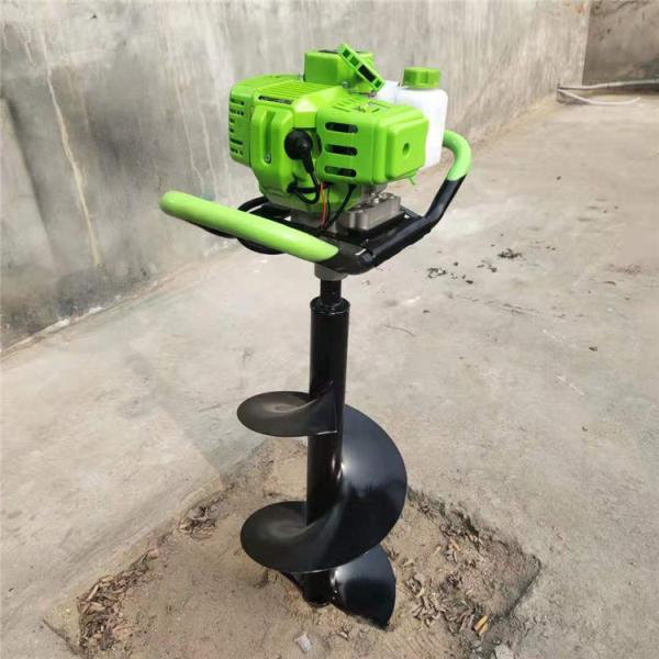 鞍山厂家汽油种树挖坑机大棚立柱挖坑机植树机