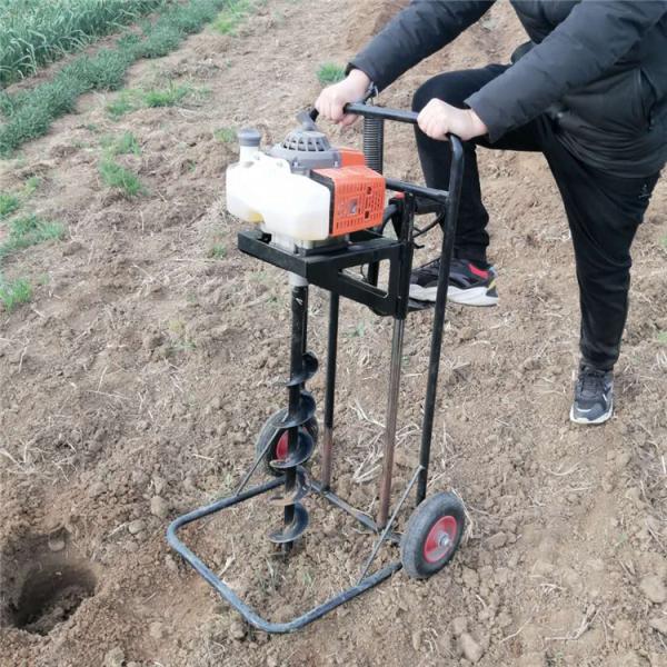 邯郸手提式植树挖坑机 打坑机厂家