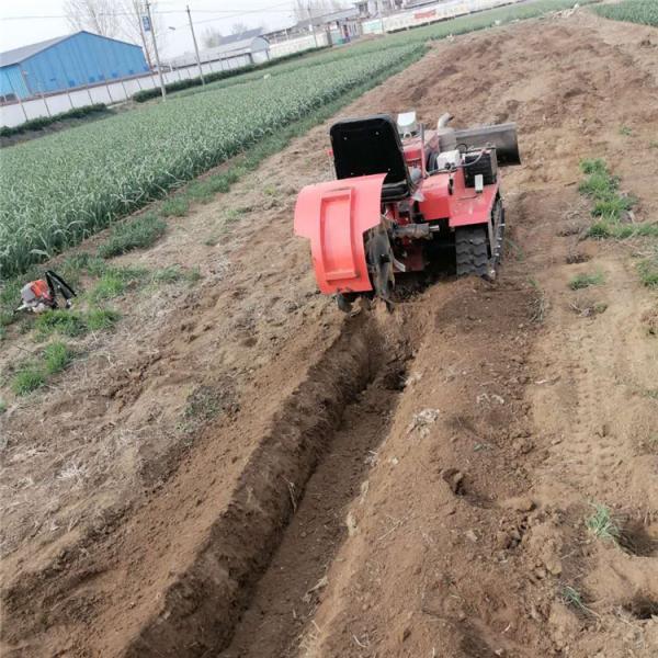 伊犁州多用型回填旋耕除草机 优质开沟施肥回填一体机