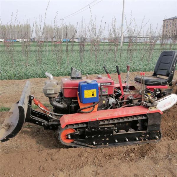 本溪果林除草盖土施肥机小型果园履带式开沟机
