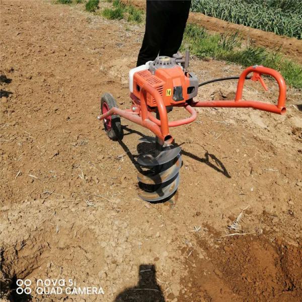洛阳立杆园林植树挖穴挖坑机大马力拖拉机钻眼机