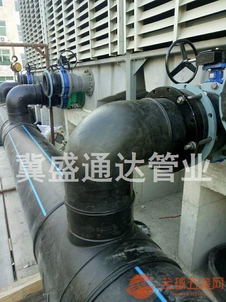 山西大口径PE管外径500毫米市政工程专用管道