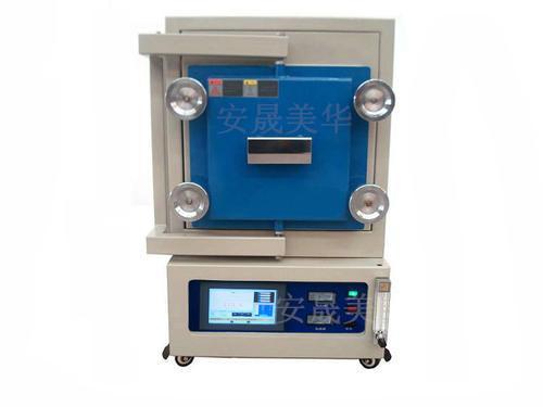 管式氣氛爐-高陵1300度箱式加熱氣氛電爐
