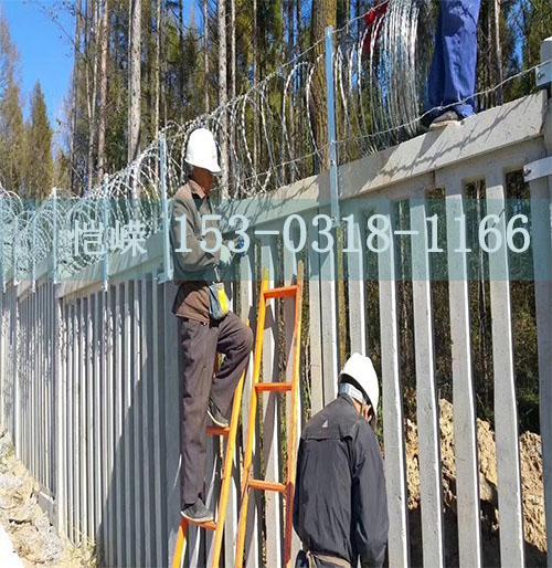 丹東防護柵欄加密網片生產廠家--安裝教程