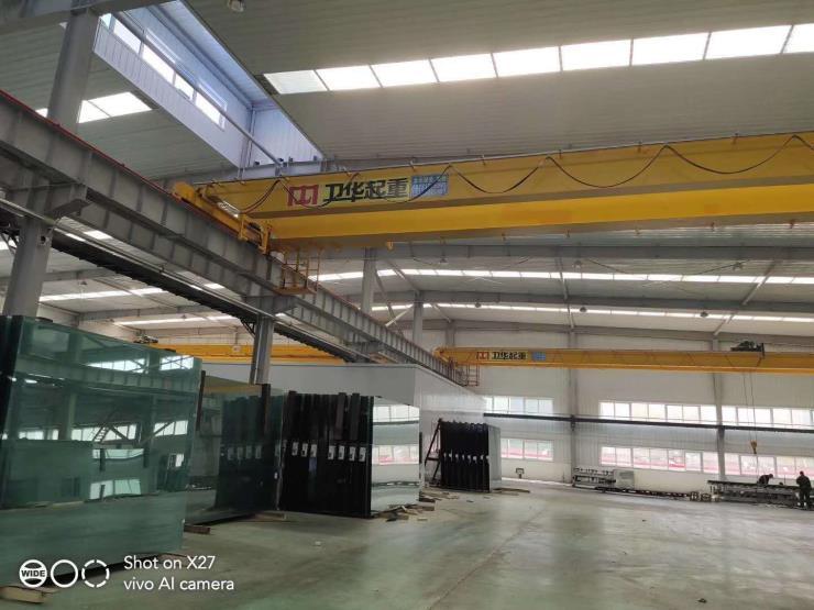 防嚴寒22.5米2噸吊鉤橋式起重機