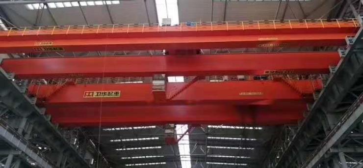【卫华重型】30吨MZ型5-20吨双梁抓斗门式起重机集团考察联系谁