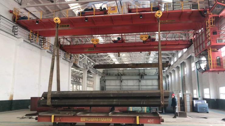 【卫华集团】:QDY型25吨吊运熔融金属起重机产品展示