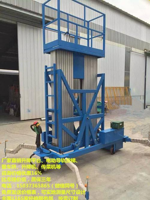 工厂升降货梯报价多少,佛山导轨升降货梯,5米家用升降梯