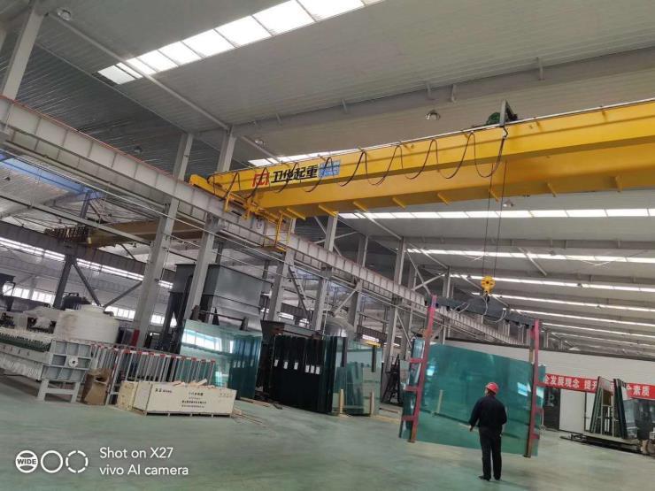 河南卫华新闻√MH型20吨22.5米花架葫芦龙门【防