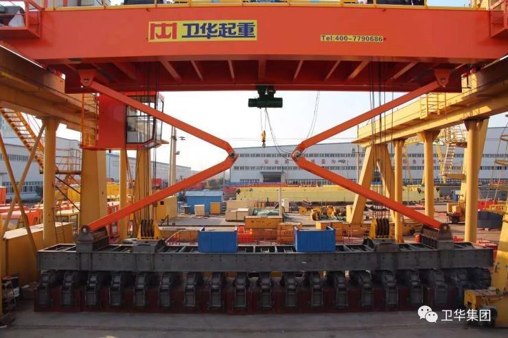 衛華股份新聞:16噸80+80噸梁場用龍門吊品種齊全