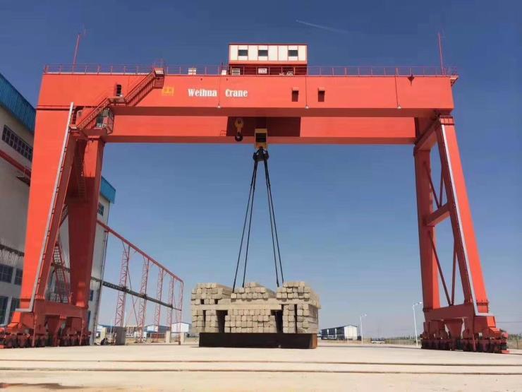 卫华集团新闻:900吨8T钢筋棚起重机新材料