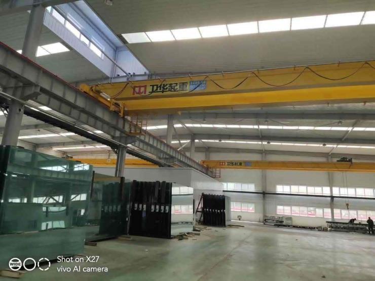 丹阳市25吨22.5米电动单梁悬挂起重机制造厂家