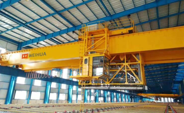 【卫华股份】:280吨跨度22.5米单梁起重机产品展