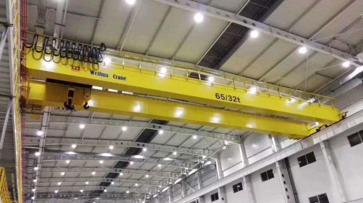 河南衛華新聞:100噸提梁機車輪項目考察