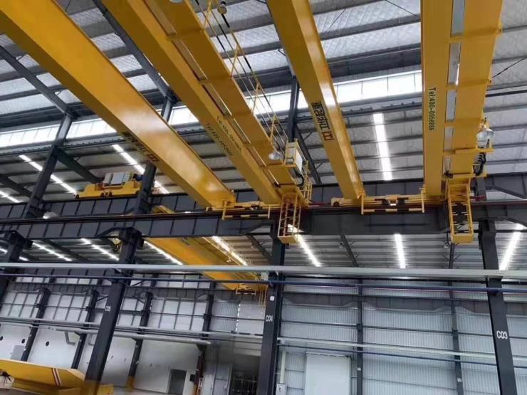 【河南卫华】:A型75/20吨双主梁卷扬机天车销售电