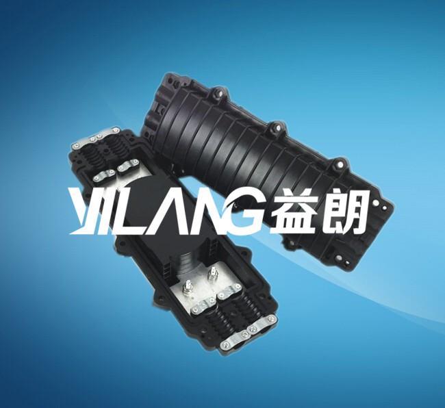 24芯单端立式炮筒式光缆接头盒接续包厂家