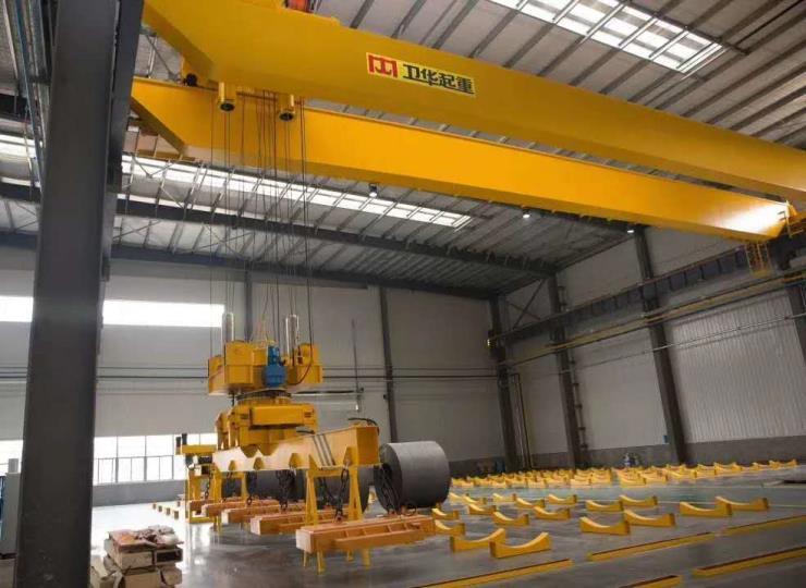 900吨跨度22.5米抓斗桥式起重机√【卫华股份】优
