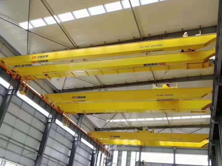 卫华集团2.95吨跨度22.5米电动葫芦桥式起重机√