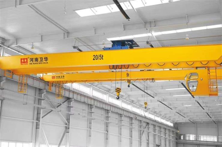2.95吨跨度16.5米双梁起重机√【卫华集团】安装