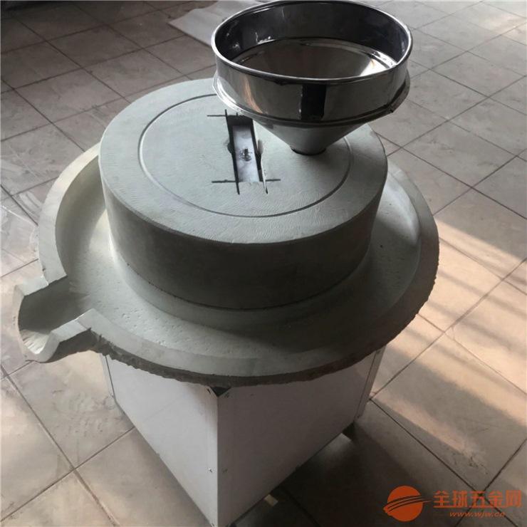 嘉兴电动豆浆米浆石磨机,电动豆浆石磨机图片