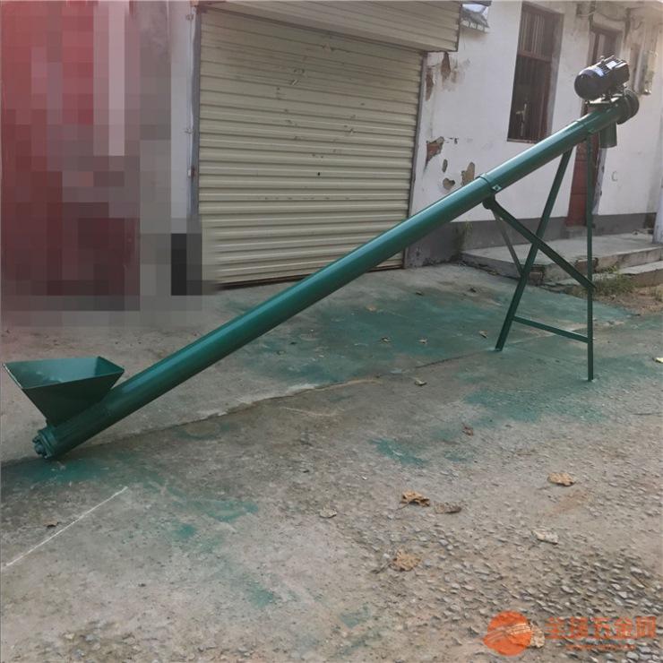 资阳螺旋绞龙吸料机6米无轴螺旋上料机厂家价格