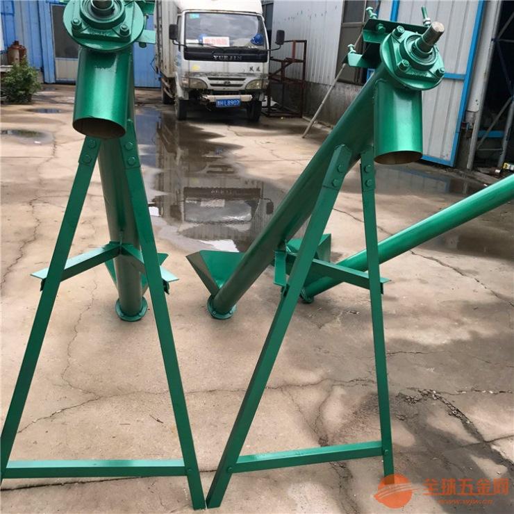 益阳不锈钢蛟龙螺旋上料机螺杆上料机生产厂家