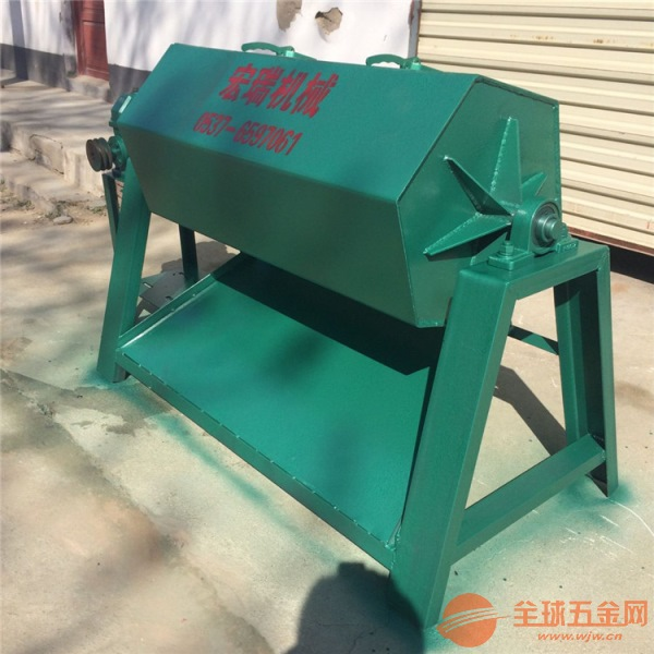 汝陽縣滾桶式除銹機鐵片毛刺打磨機