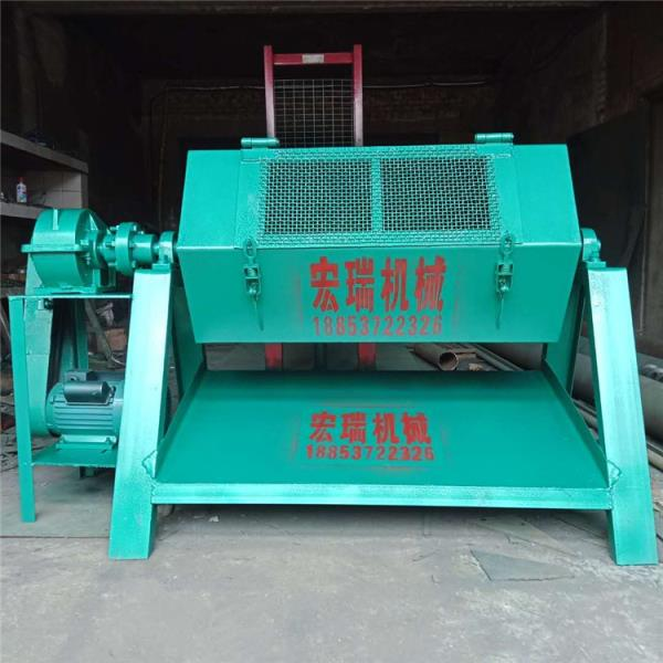 中山铁件专用除锈抛光机 石头滚筒式研磨机
