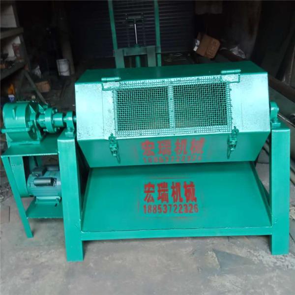 南宁大容量去油除锈机 冲压钢件六角滚筒抛光机