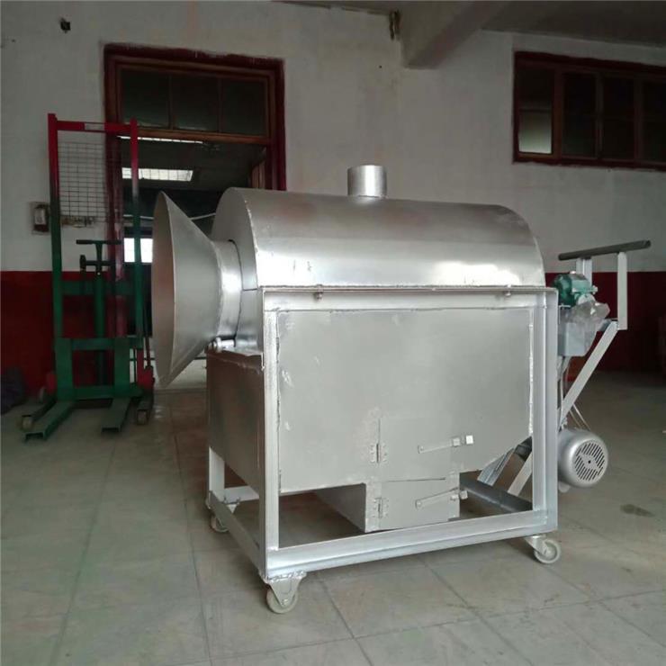銅川炒貨機干果100斤電加熱炒籽機