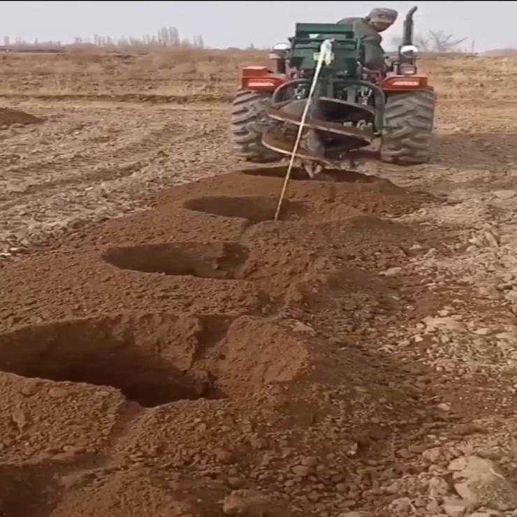 深度1.5米挖坑机 栽种打桩机
