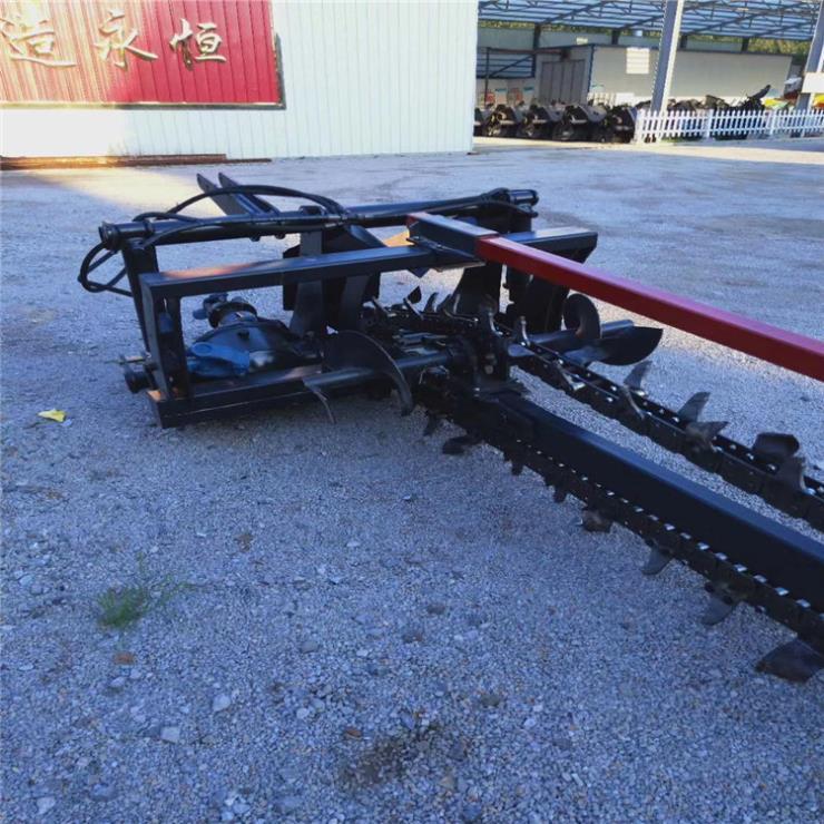 侧链条开沟机 直供 拖拉机挖沟机 开槽机